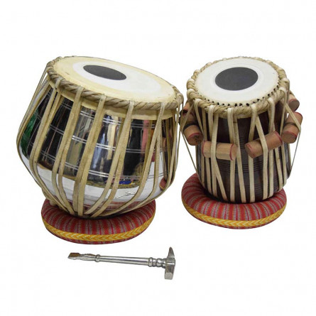 Khayal Tabla, Copper Heavy Dagga, With Accessories