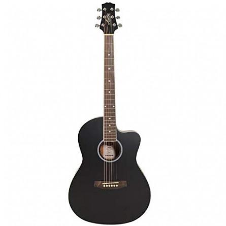 Ashton D10C BK Acoustic Guitar Cutaway Black