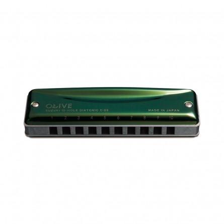 Suzuki C20C 10 Hole Diatonic Harmonica Key C