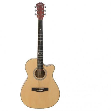 CadenzaQAG-40C NT CutawayAcoustic Guitar Natural