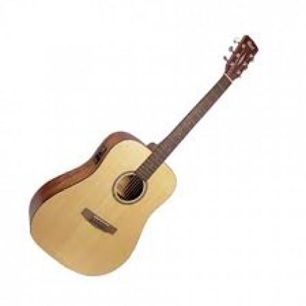 Cort AD850SE OP Semi Acoustic Guitar Open Pore