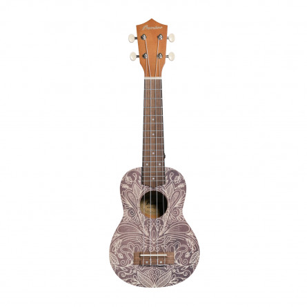 BAMBOO Elixir Concert Ukulele Dreams Series Acoustic   For Beginners and Professionals   Sapele & Walnut   With Gig Bag (New Generation)