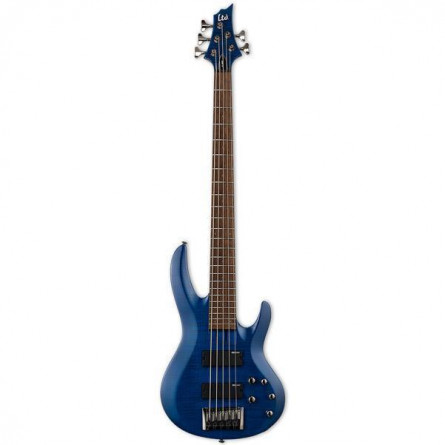 ESP LTD B205 FMSTB Electric Bass 5 String See Thru Blue