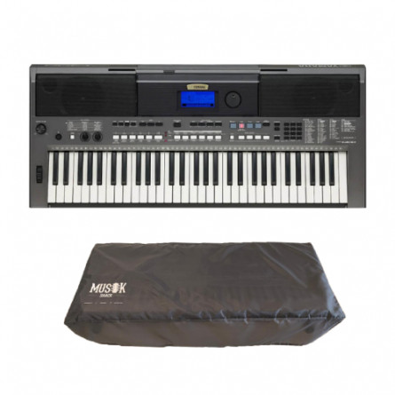 Yamaha PSR-I400 Portable Keyboard with Free Dust Cover