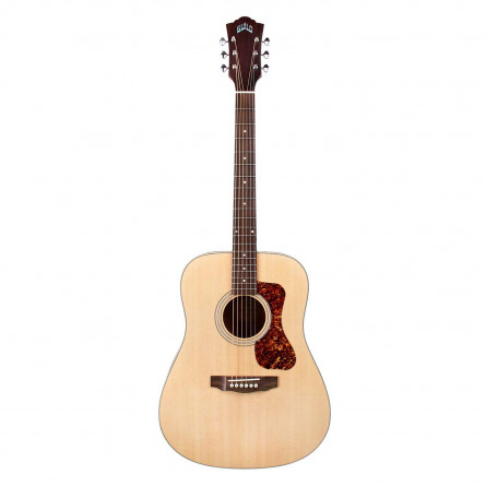 Guild D-240E LtdFlamed Mahogany Semi Acoustic Guitar Natural