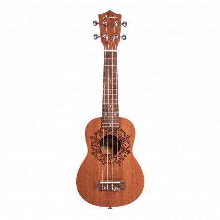 BAMBOO Kailua Concert Ukulele Earth Series Acoustic   For Beginners and Professionals   Sapele & Walnut   With Gig Bag (New Generation)