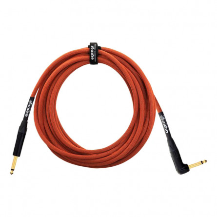 Orange ANIN OR20 Angled Instrument Cable 20 Feet