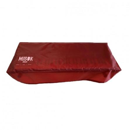 Musikshack Keyboard Dust Cover Crimson