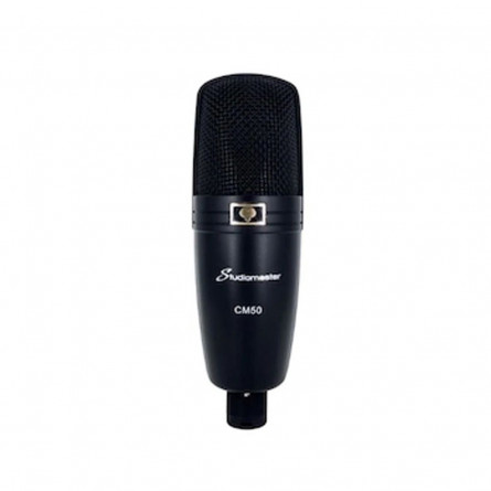 Studiomaster CM50 Condenser Microphone with Soft Bag and 5mtr Cable