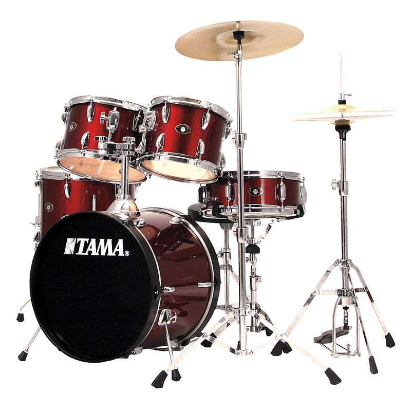 Buy Tama Sg52kh5 Stage Star 5 Pcs Drum Kit Wine Red Online In India