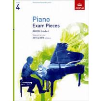 AB Piano Exam Pieces 2015 to 2016 Grade 4