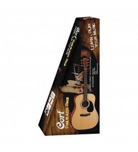 Cort CAP810 NS Acoustic Guitar Jam Pack Natural Satin