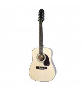 Epiphone DR 212 Acoustic Guitar 12 String Natural