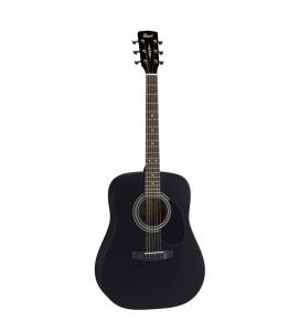 Cort AD810E BKS Semi Acoustic Guitar Black Satin
