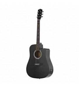 Fender Squier SA 105CE BK Acoustic Guitar Black