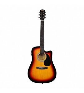 Fender Squier SA 105CE SB Acoustic Guitar Sunburst