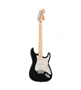 Fender Squier Affinity Stratocaster Electric Guitar Maple Fret Board S S S Black