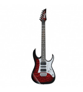 Ibanez GRG 150QA TRB Electric Guitar Transparent Red Burst