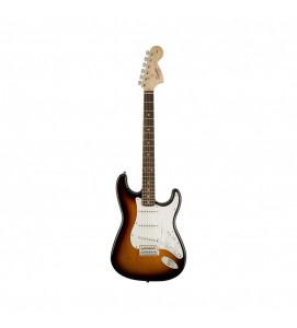 Fender Squier Affinity Stratocaster Electric Guitar  Indian Laurel SSS Brown Sunburst