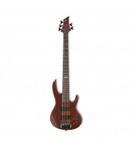 ESP LTD Electric Bass 5 String D Series D5  Natural Satin