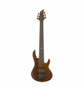 ESP LTD Electric Bass 6 String D Series D6  Natural Satin