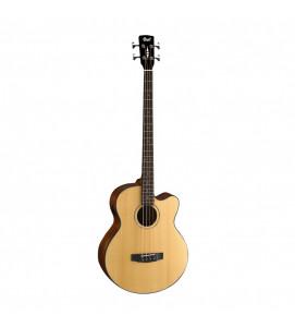 Cort AB850F NAT 4 string Semi Acoustic Bass w-Bag Natural