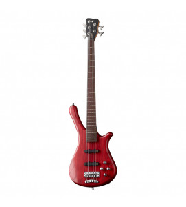 Warwick Rockbass Fortress 5 String Burgundy Red Transparent Satin