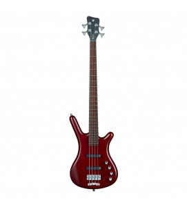 Warwick RockBass Corvette $$ 4-String Burgundy Red Transparent Satin
