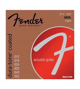 Fender 880L Acoustic Guitar Strings 80/20 Coates 12 -52