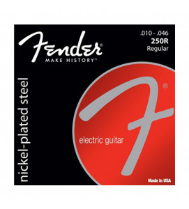 Fender 250R Electric Guitar Strings NPS Ball End 10-46
