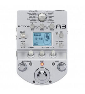 Zoom A3 Acoustic Guitar Effects Pedal