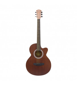 Grail Allure A190CE SAS Semi Acoustic Guitar Cutaway All Sapele