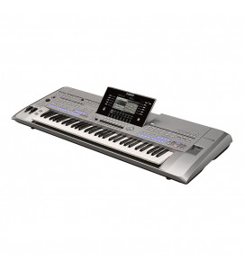 Yamaha Tyros 5 61 Key Arranger Workstation with Speakers and Stand