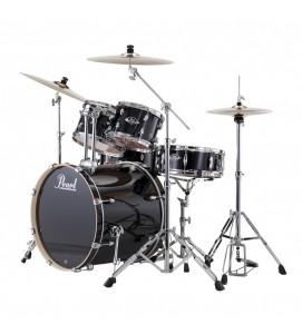 Pearl EXX725SP C Drum Set 5 Pcs EXX Hybrid Shell Pack Jet Black