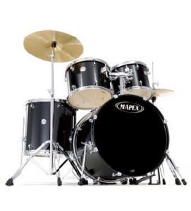 Mapex Voyager VR5254BDK Drum Set 5 Pcs with Black Hardware Black
