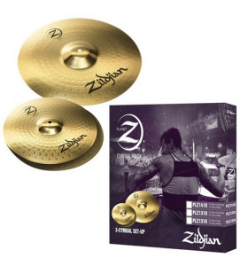 Zildjian PLZ1418 NEW Cymbals Planet Z 3 Pack 14 Inches + 18 Inches