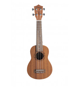 BAMBOO Eco Concert Ukulele Earth Series Acoustic | For Beginners and Professionals | Sapele & Walnut | With Gig Bag (New Generation)