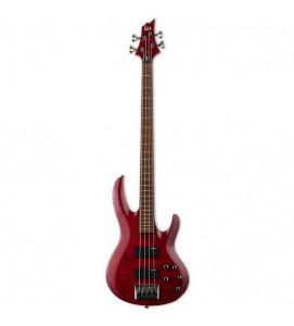 ESP LTD B204 FMSTR Electric Bass See Thru Red