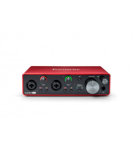 Focusrite Scarlett 2i2 (3nd Gen) USB Audio Interface