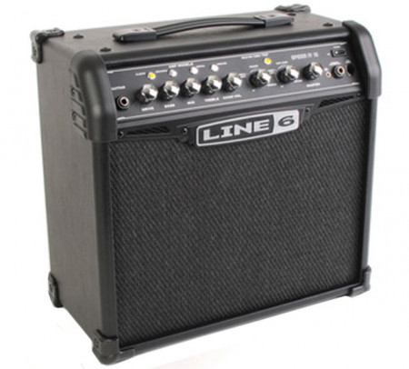 Line 6 Spider IV 15 Watts 1X8 Guitar Combo Amplifier