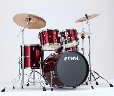 Tama New Imperialstar IP50H6 VTR 5 Pcs Drum Set Vintage Red