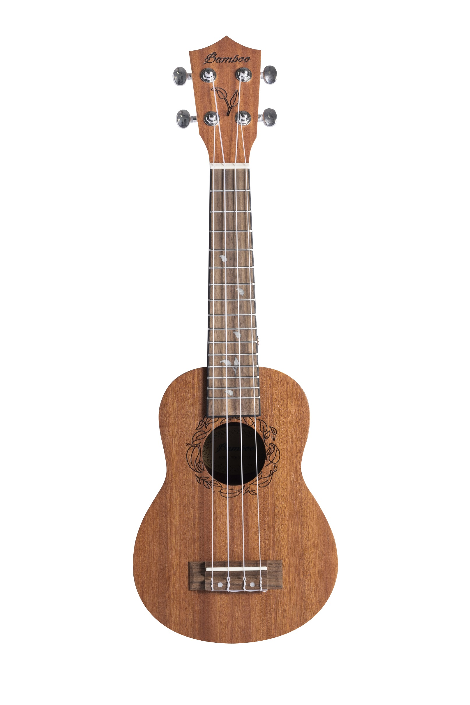 BAMBOO Eco Tenor Ukulele Earth Series Acoustic | For Beginners and Professionals | Sapele & Walnut | With Gig Bag (New Generation)