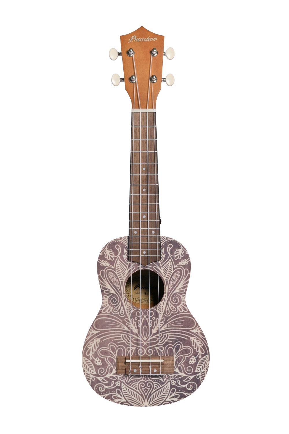 BAMBOO Elixir Concert Ukulele Dreams Series Acoustic | For Beginners and Professionals | Sapele & Walnut | With Gig Bag (New Generation)