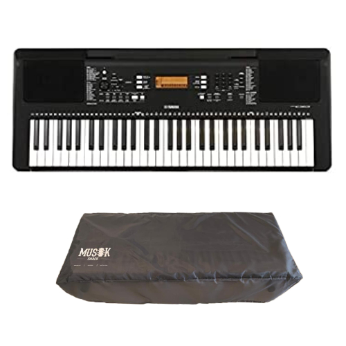 Yamaha PSR E363 Digital Keyboard with Free Dust Cover