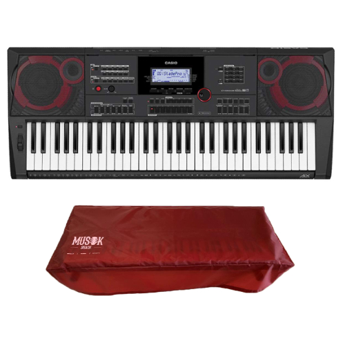 Casio CTX 9000 IN Hi-Grade Keyboard with Free Dust Cover