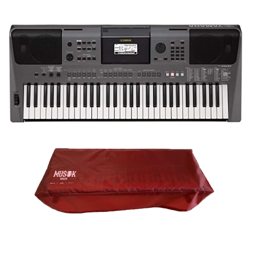 Yamaha PSR I500 Digital Keyboard with Free Dust Cover