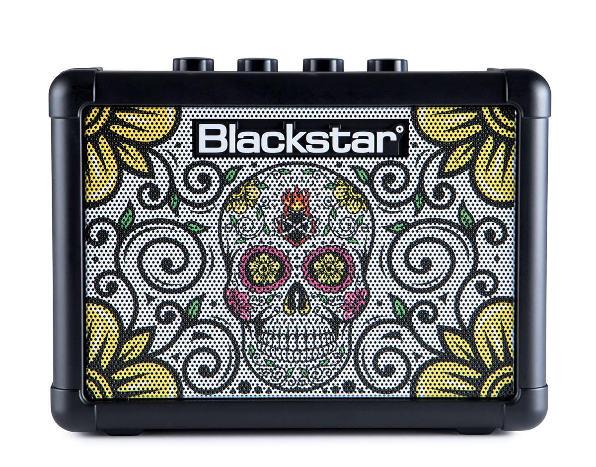 Blackstar FLY3 Combo Guitar Amplifier Sugar Skull 3 watts