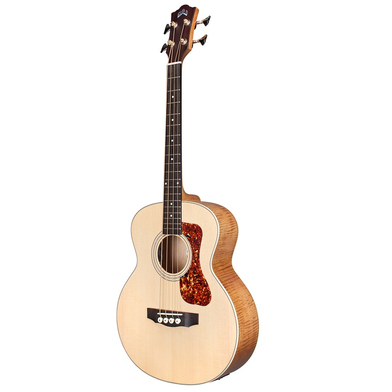 Guild Jumbo Junior Semi Acoustic Bass Natural