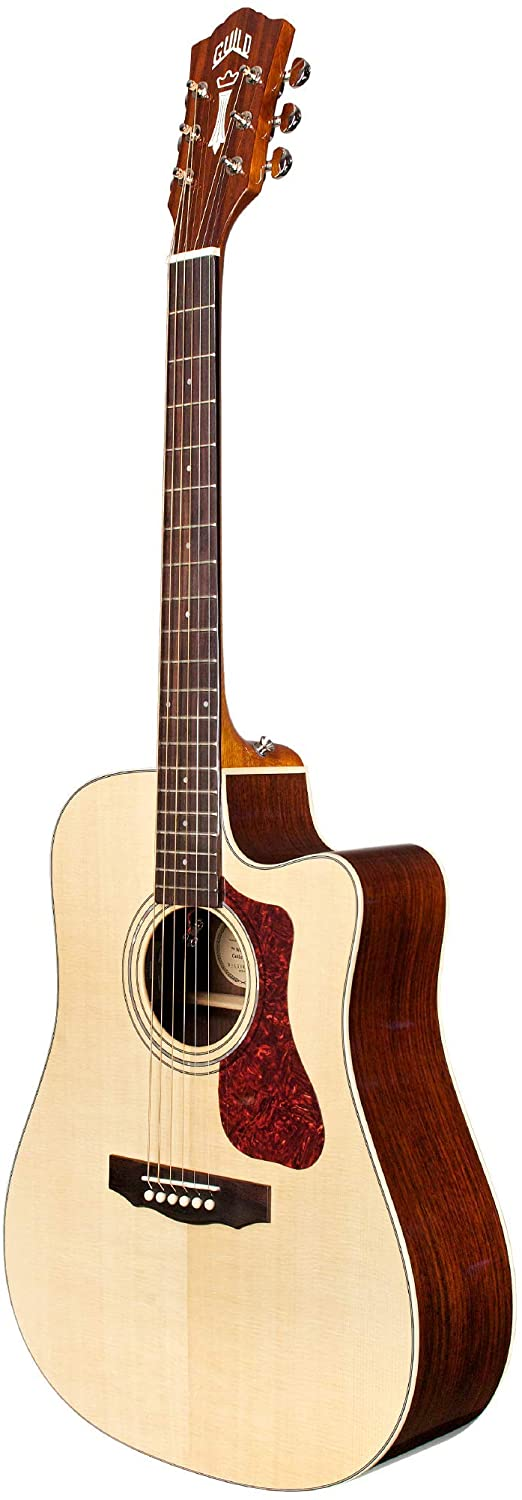 Guild D-150CE Semi Acoustic Guitar Natural with Polyfoam Case