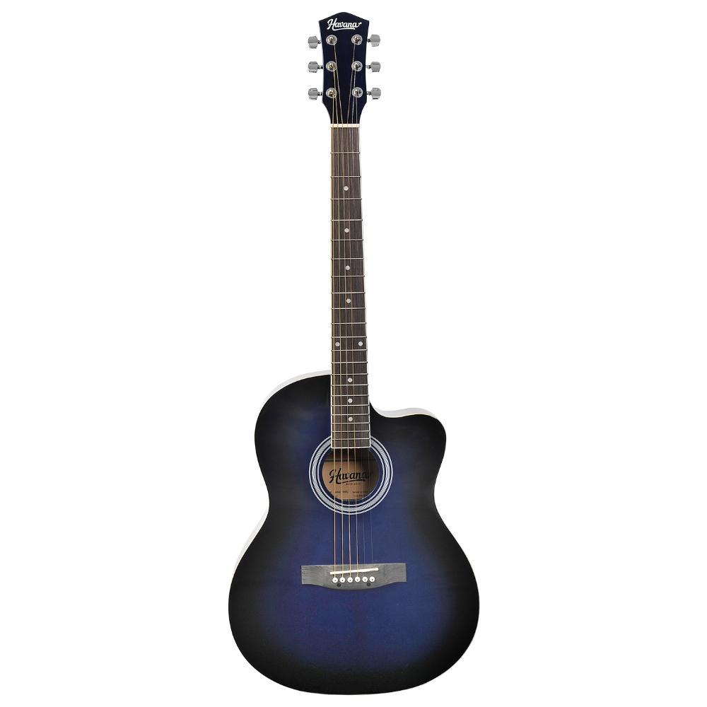Havana AAG39C BL Acoustic Guitar Cutaway Blue